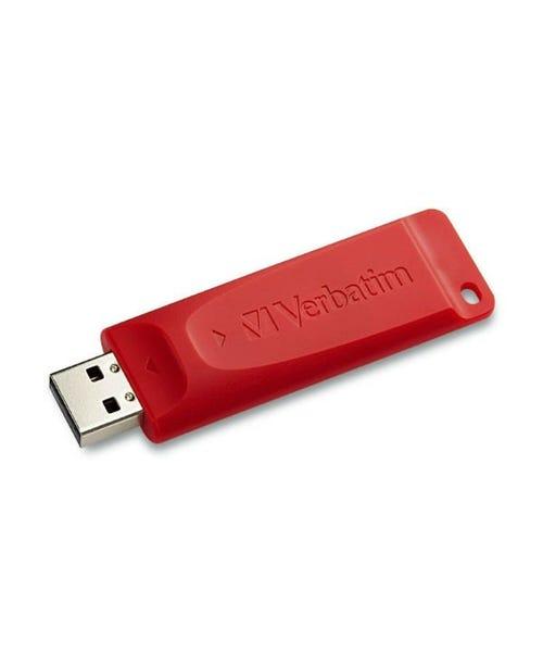 Verbatim Store'n'Go USB Flash Drive - Red (Various Memory Capacities)