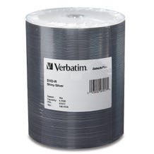 Verbatim 16X Shiny Silver 4.7GB DVD-R Shrinkwrap - 100pc