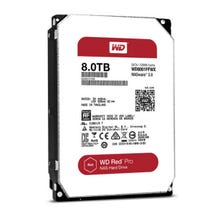 WD Red Pro 8TB NAS Hard Drive - SATA - 7200RPM