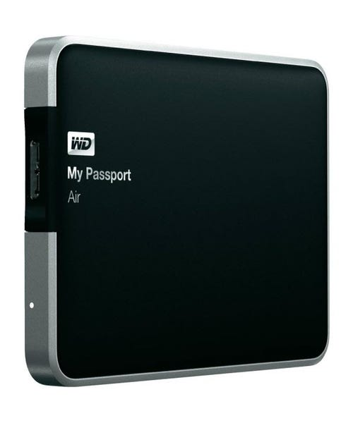 WD My Passport Air 500GB all-metal USB 3.0 Ultra-slim Mac Ex