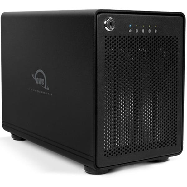 OWC 32TB ThunderBay 4 Thunderbolt 2 4-Bay RAID Array (RAID 5 Edition)