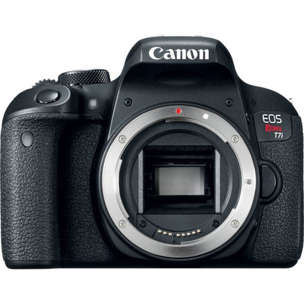 Canon EOS Rebel T7i DSLR Camera - Body Only