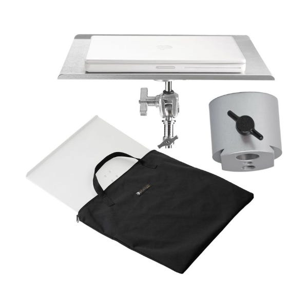 "Tether Tools Table Aero MacBook Pro 17"" - Silver"