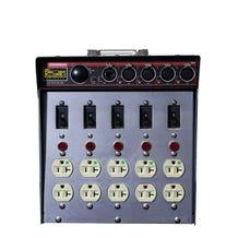 Dadco Black CAT DAD 100-ECAT Lunchbox Distro w/ Ethernet Node & 4-Port DMX Out