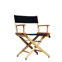 Film Craft Short Studio Director's Chair - Natural