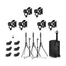 Fiilex 6-Light P180E LED Travel Kit