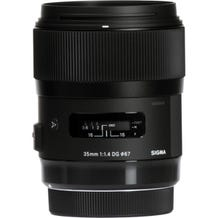 Sigma 35mm f/1.4 DG HSM Art Lens - Various Mounts