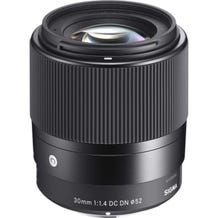Sigma 30mm f/1.4 DC DN Contemporary Lens - Various Mounts
