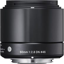 Sigma 60mm f/2.8 DN Lens for Micro Four Thirds Mount Cameras - Various Colors