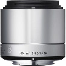 Sigma 60mm f/2.8 DN Lens for Micro Four Thirds Mount Cameras - Silver