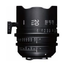 Sigma 20mm T1.5 FF High-Speed Prime - Various Mounts
