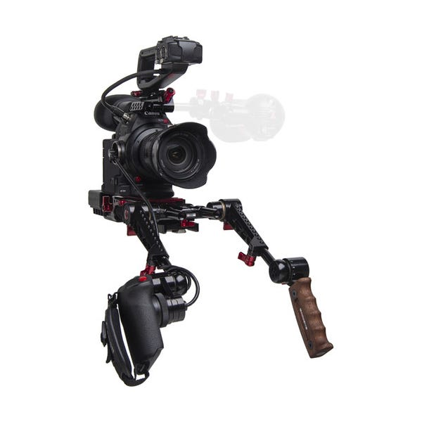 Zacuto C100 Mark II EVF Recoil with Dual Trigger Grips