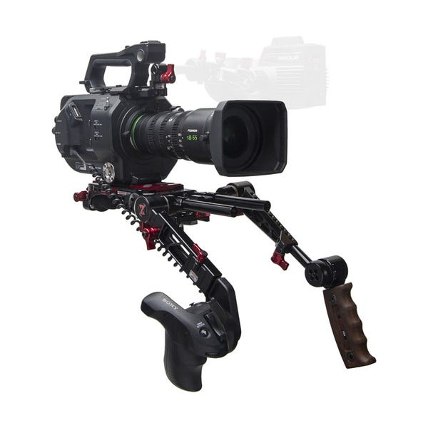 Zacuto Sony FS7 II Recoil with Dual Trigger Grips