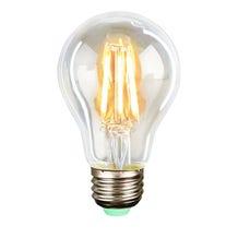 Quasar Science Medium Base Filament LED 6 Watt Bulb - Warm