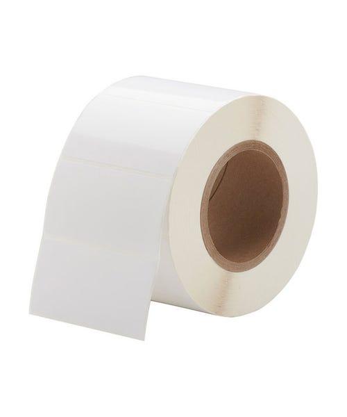 "Primera 4 x 2"" White TuffCoat High-Gloss Labels - 1250 Labels"