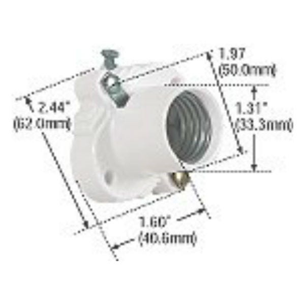 Thermoset Medium Base Clete Socket - Cooper