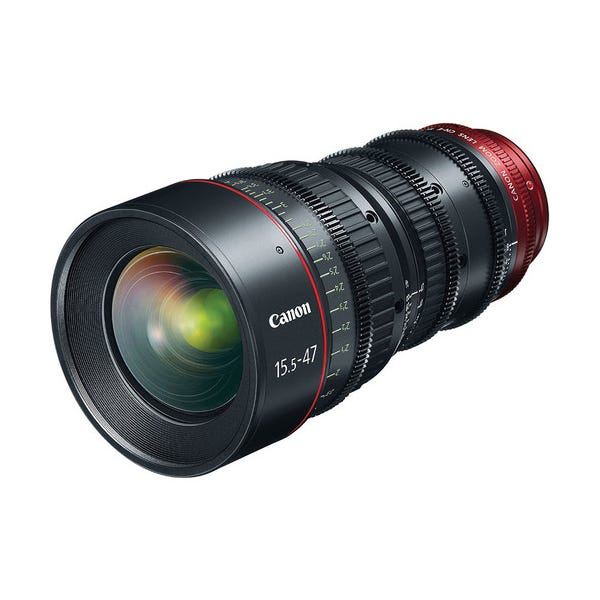 Canon CN-E 15.5-47mm T2.8 L S Wide-Angle Cinema Zoom Lens with EF Mount