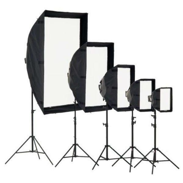 Chimera Medium Shallow Video Pro +3 Lightbank 8035