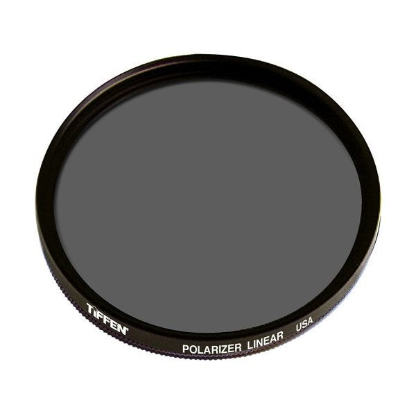 "Tiffen 85 Linear Polarizer 4.5"" Round Drop-In (DI)"