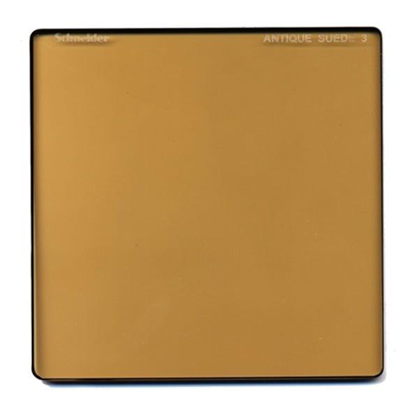 "Schneider Optics 6.6 x 6.6"" Solid Color Antique Suede 3 Water White Glass Filter"
