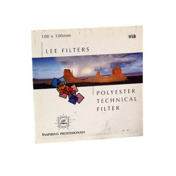 """LEE Filters 3 x 3"""" 85B Color Conversion Polyester Filter"""