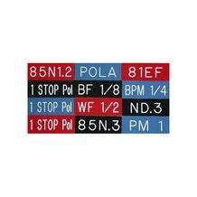 English Stix 1 Stop Pola Filter Tags - Blue