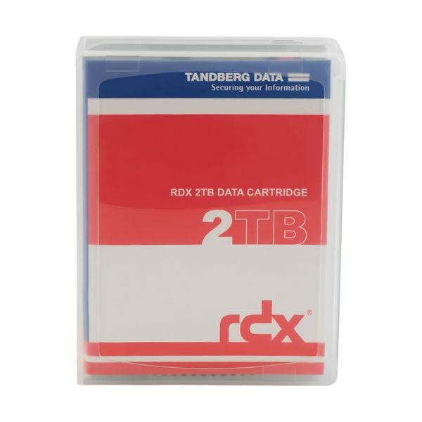 Cartridge, RDX, 2TB, Tandberg, Single