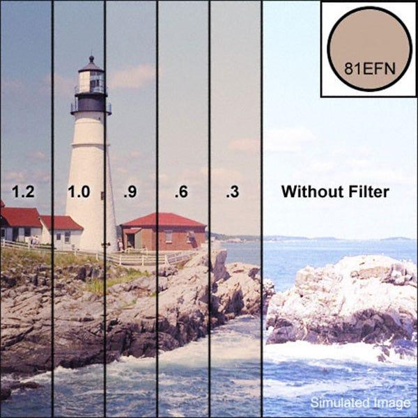 "Tiffen 4 x 4"" 81EF Neutral Density (ND) 0.3 Combination Filter"