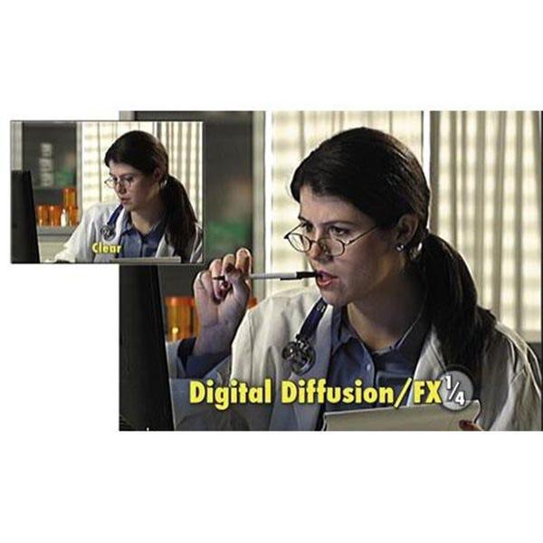 "Tiffen 4 x 4"" Digital Diffusion/FX 1/4 Filter"