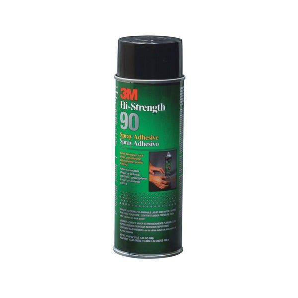 3M High-Strength 90 Spray Adhesive - 17.6 oz (Ground Only)