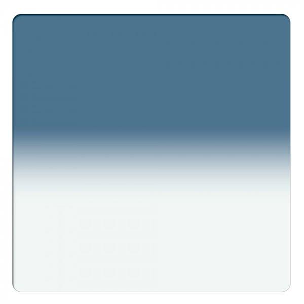 "Schneider Optics 6.6 x 6.6"" Graduated Storm Blue 2 Water White Glass Filter - Soft Edge"