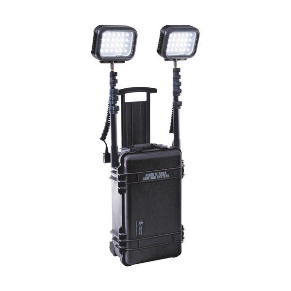 Pelican Remote Area Lighting System Double RALS 9460 - Black