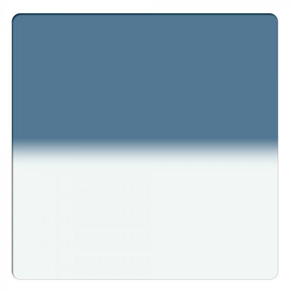 "Schneider Optics 6.6 x 6.6"" Graduated Storm Blue 1 Water White Glass Filter - Hard Edge"