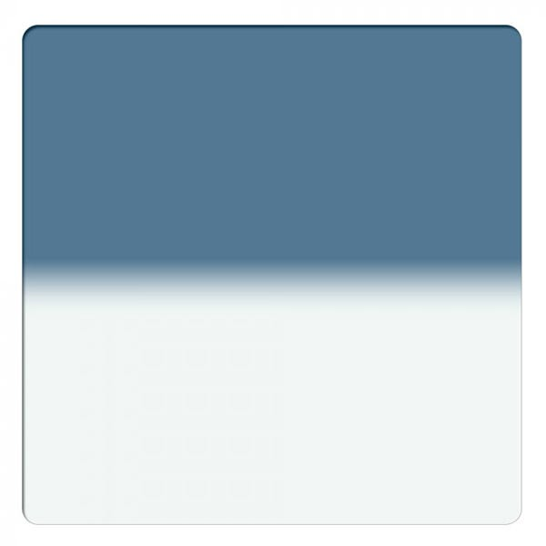 "Schneider Optics 6.6 x 6.6"" Solid Color Storm Blue 1 Water White Glass Filter"