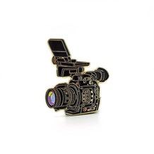 Film Pin Society Doc Camera Enamel Pin