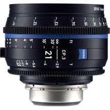 Zeiss CP.3 21mm T2.9 Compact Prime Lens - EF Mount