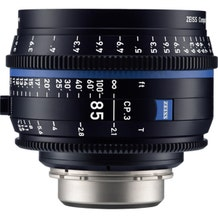 Zeiss CP.3 85mm T2.1 Compact Prime Lens - E Mount