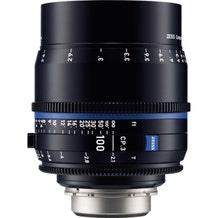 Zeiss CP.3 100mm T2.1 Compact Prime Lens - PL Mount