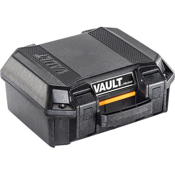 Pelican V100 Vault Case w/ Foam - Black