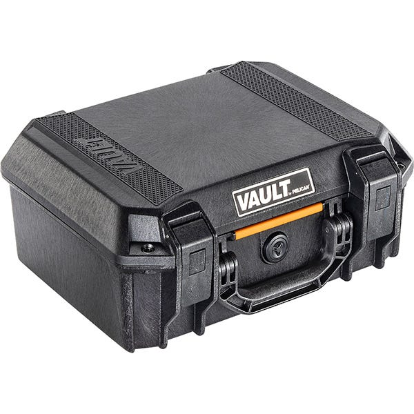 Pelican V200 Vault Case w/ Foam - Black