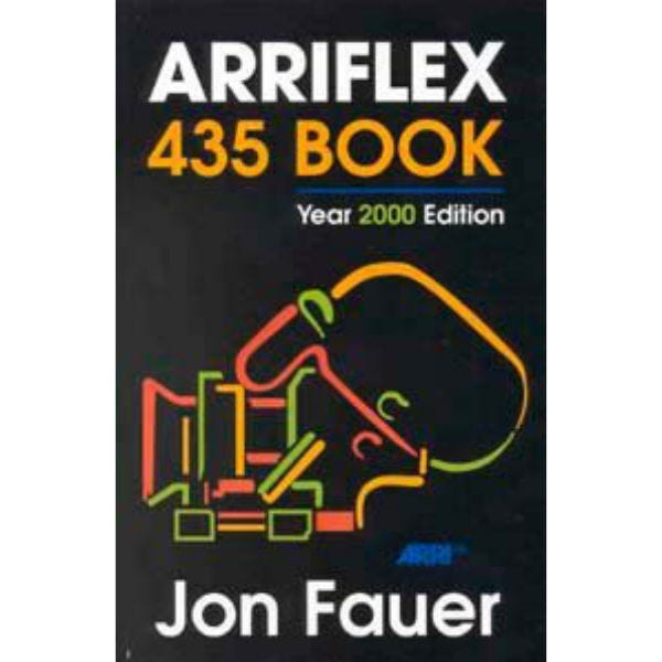 Arriflex 435 Book by Jon Fauer, ASC