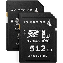 Angelbird Match Pack for the Fujifilm X-T3 (2 x 512GB)