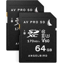 Angelbird Match Pack for Fujifilm X-T3 64 GB (2x SDXC Memory Cards)
