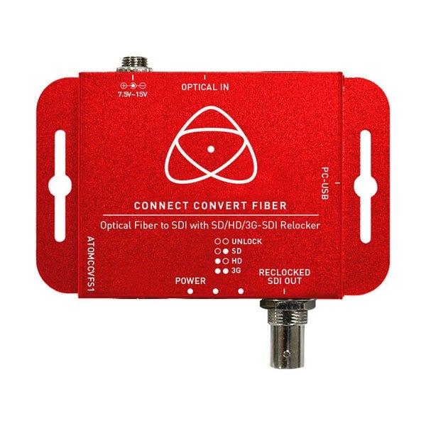Atomos Connect Convert Fiber | Fiber to SDI