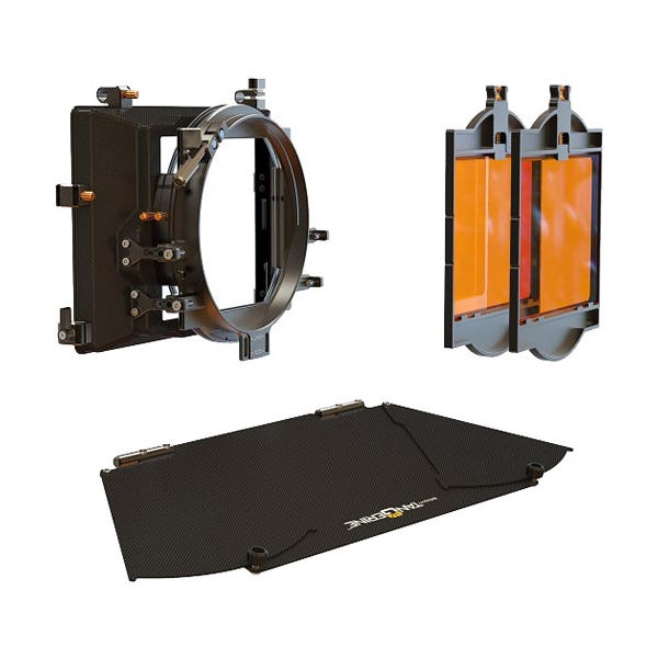 "Bright Tangerine Viv 5"" Matte Box Kit 1"