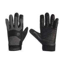 Bright Tangerine ExoSkin Leather Armour Gloves (XL)