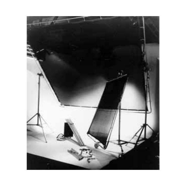 Matthews Studio Equipment 8 x 8' Butterfly/Overhead Fabric - Black China Silk