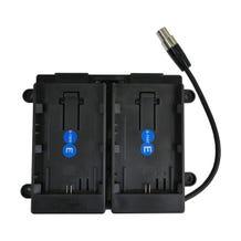 TV Logic Dual Battery Bracket 7.4V Canon LP-E6