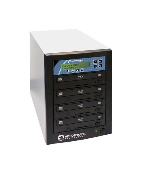 Microboards CopyWriter Pro Blu-Ray Duplicator - CD/DVD - 4 d