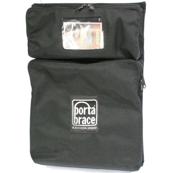 Porta Brace Backpack Camera Case Front 2-Pocket Module BK-P2MB